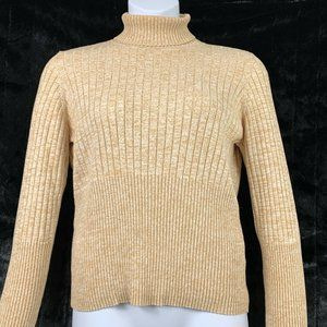 Caslon XL Sweater Turtleneck Long Sleeved Beige